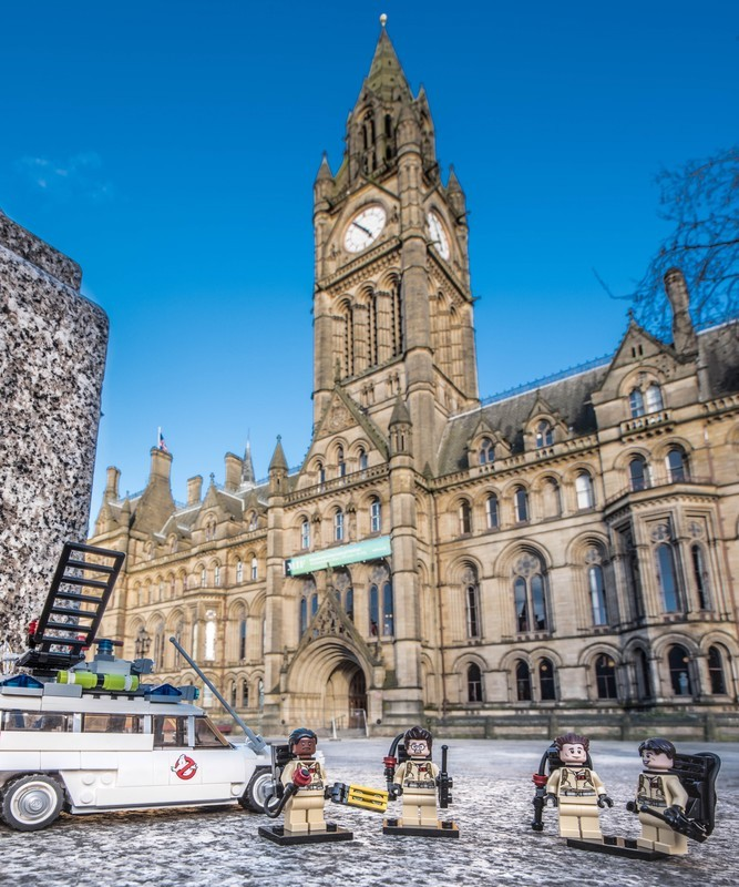MANCHESTER GHOSTBUSTERS - MANCHESTER MINI FIGURE ADVENTURES