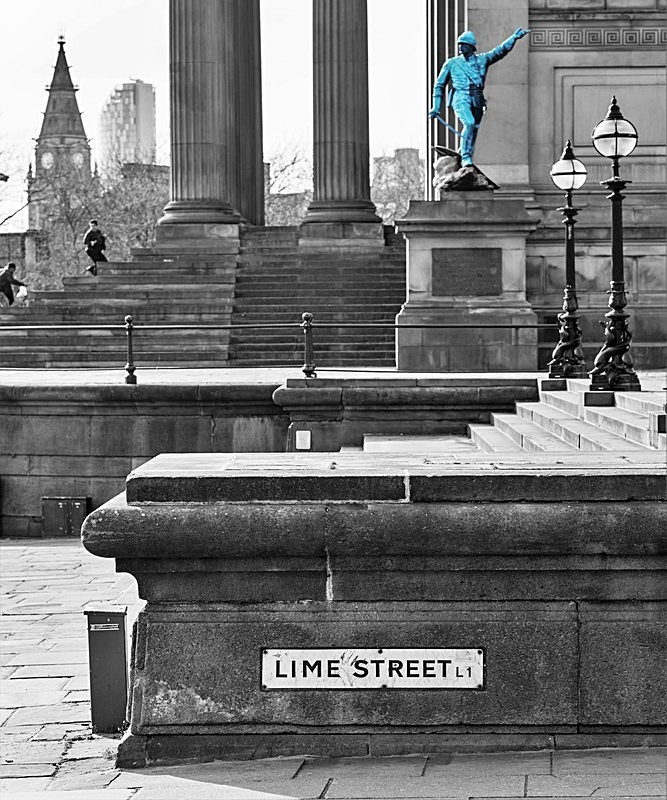Lime Street View 001201 - Liverpool the places