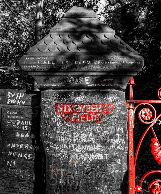 Strawberry Fields - Liverpool the places