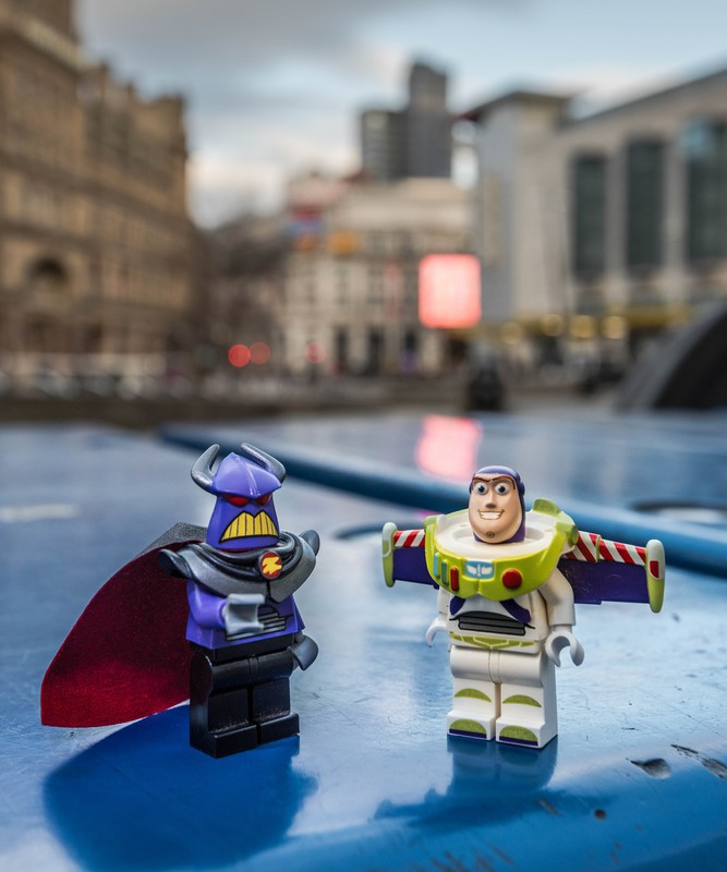 Manchester Buzz Lightyear 1 - Manchester Mini Lego Adventures
