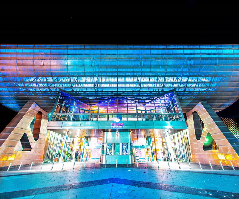 Lowry Theatre - Salford Quays inc Lowry & Media City