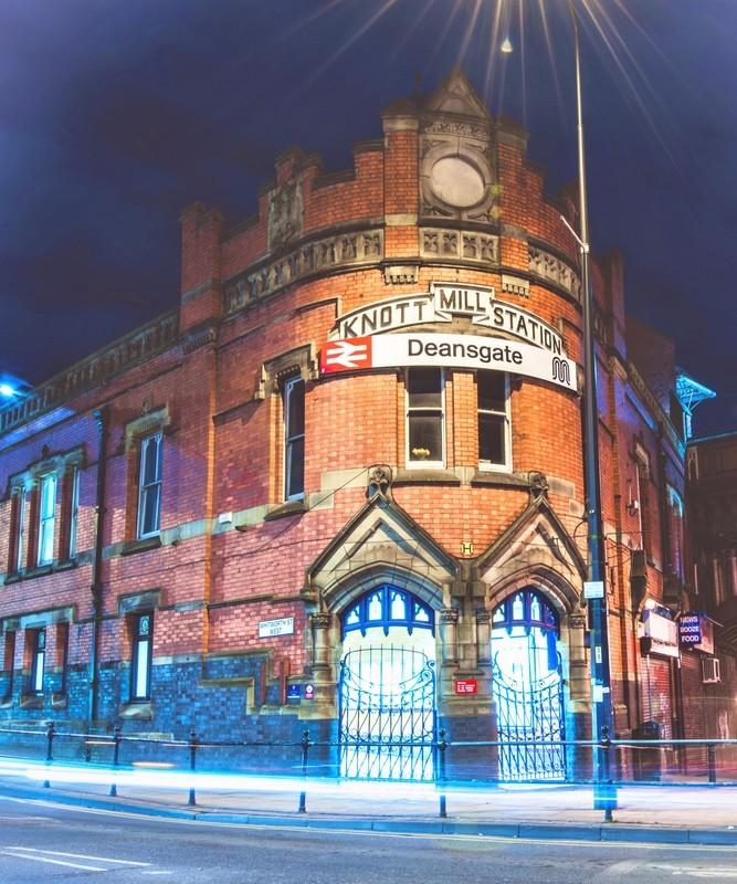 Deansgate Station - Manchester Castlefield & Deansgate
