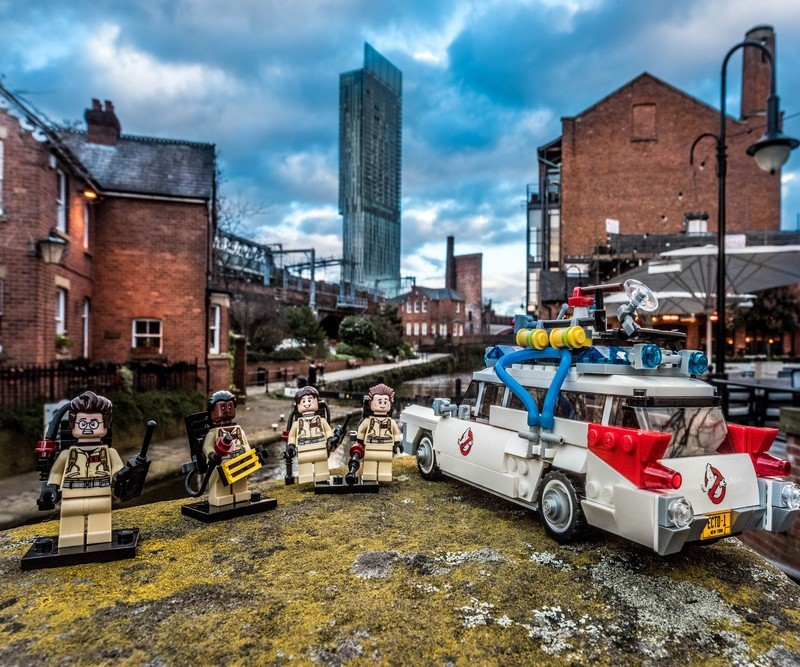 Manchester Ghostbusters - Manchester Mini Lego Adventures