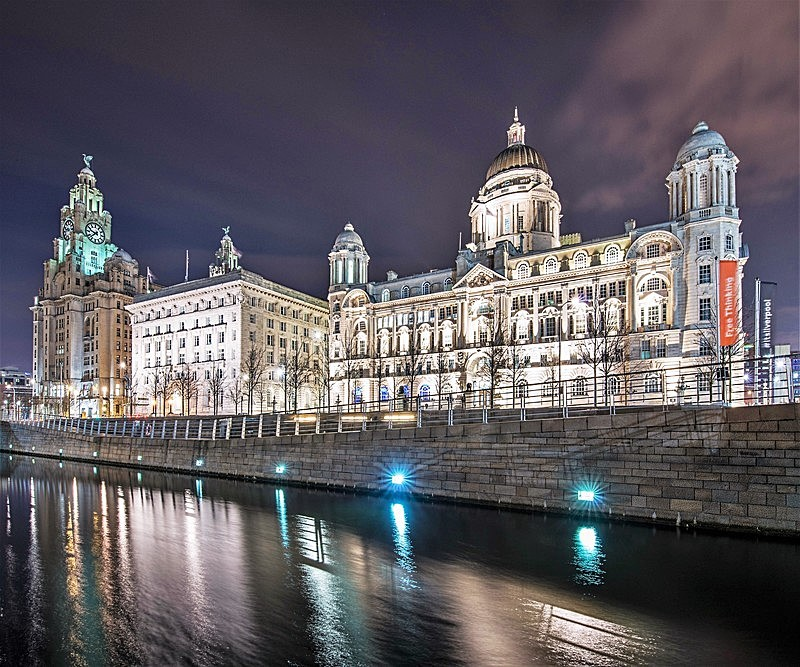 The 3 Graces - Liverpool the places