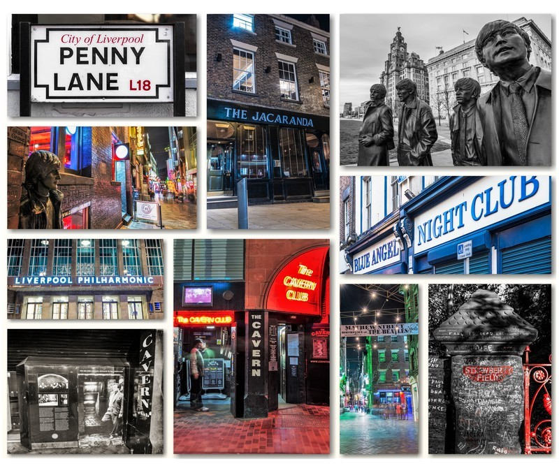 LIVERPOOL BEATLES MONTAGE - Liverpool the places