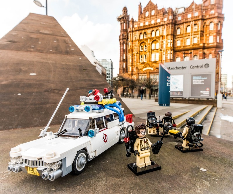 Manchester Ghostbusters 3 - Manchester Mini Lego Adventures