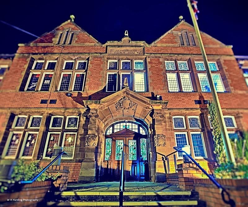 Altrincham Town Hall 001013 - ALTRINCHAM, HALE & SALE