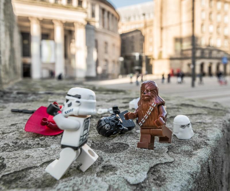 Manchester Chewbacca - Manchester Mini Lego Adventures