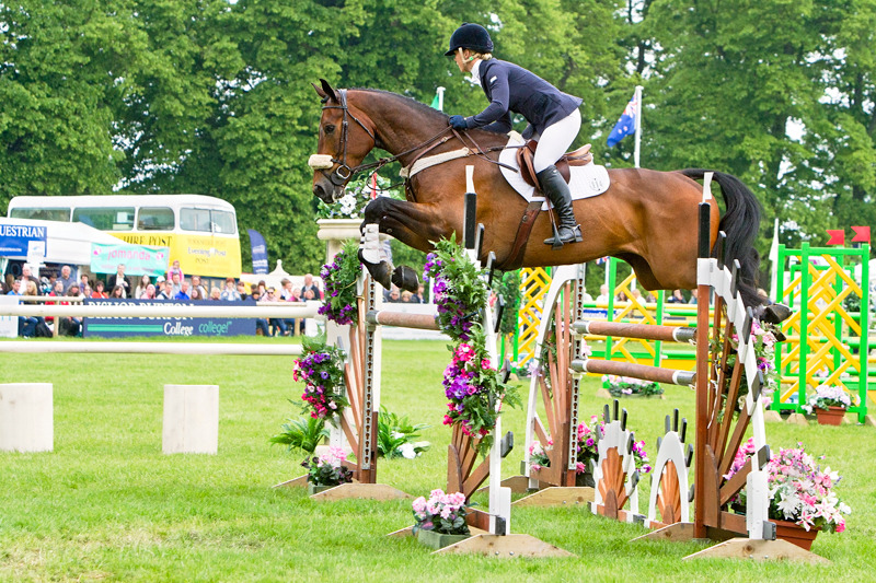 Dani Evans | Bramham Horse Trials | Rachael Edwards Photography