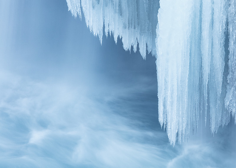 Godafoss IV - Ice