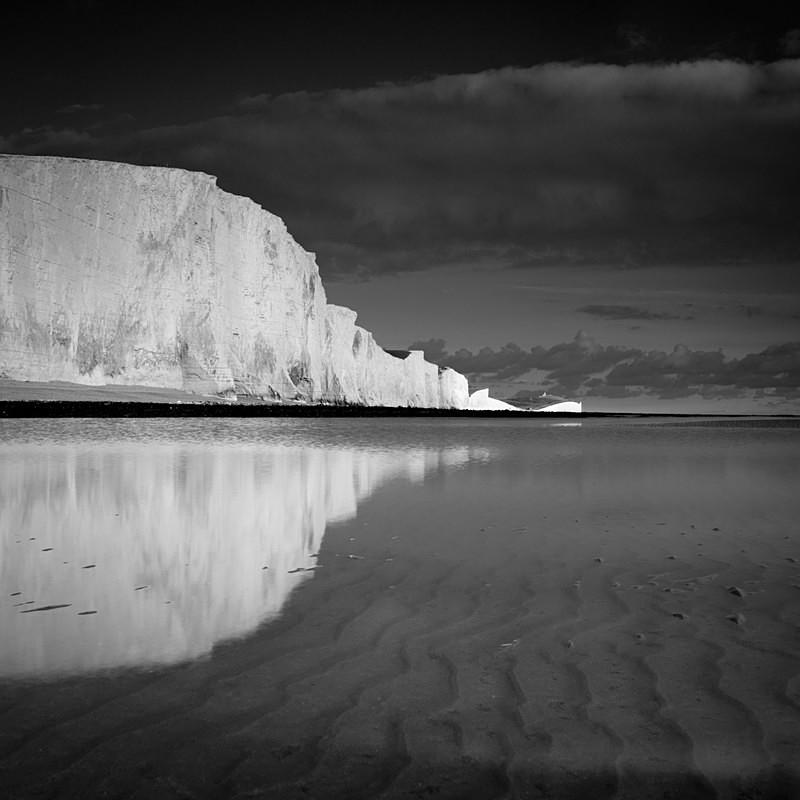 White Cliffs II - Black and White