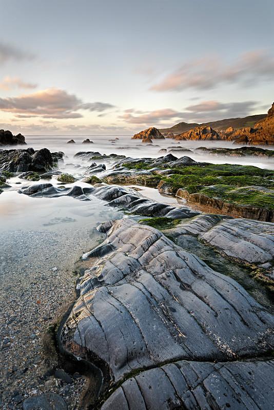 Combesgate Beach - Devon Seascapes