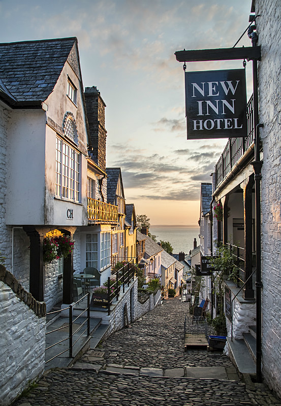 Clovelly Street - Devon Landscapes