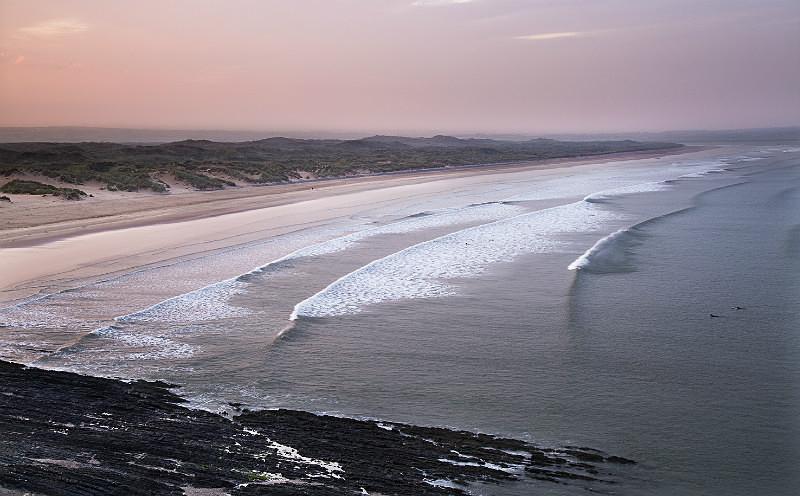 Morning Saunton Beach - Devon Seascapes