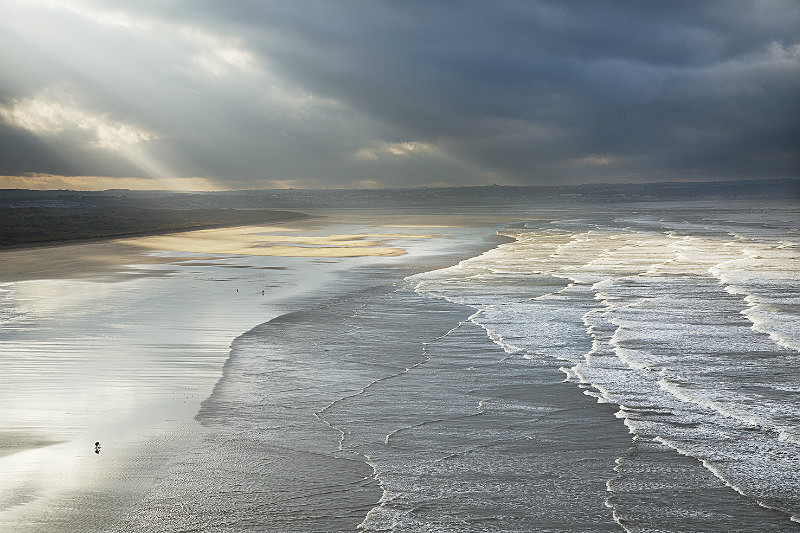 Saunton Sands - Devon Seascapes