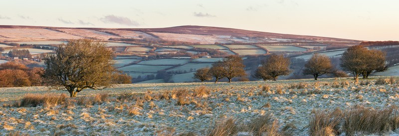 Panorama of Room Hill, Exmoor - Latest images