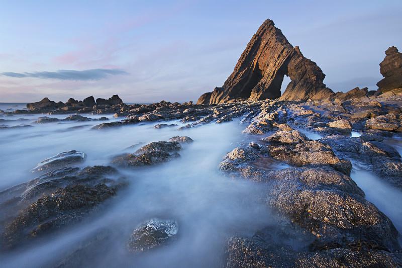 Blackchurch Rock light - Devon Seascapes