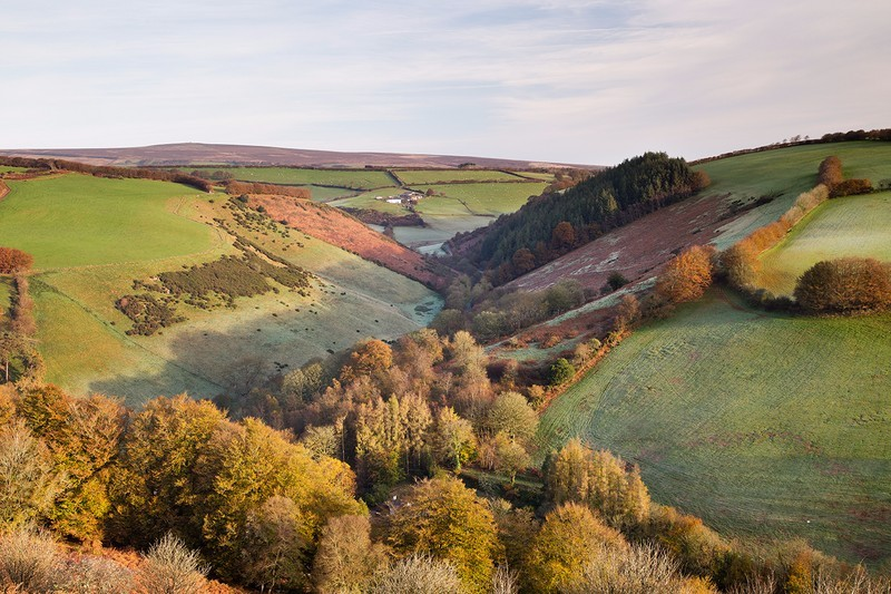 Autumn Winsford - Exmoor