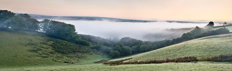 South Molton Mist - Panorama's