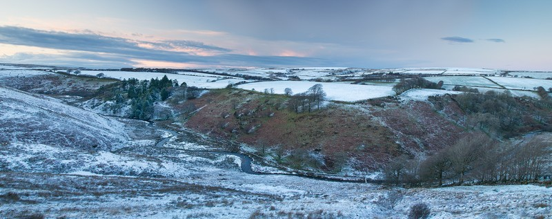 Panorama of The River Barle - Latest images