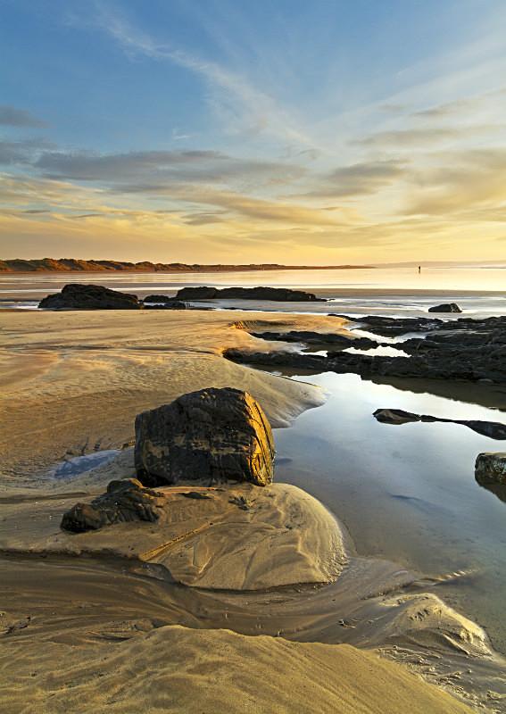 Saunton Beach Rock Pool's - Devon Seascapes