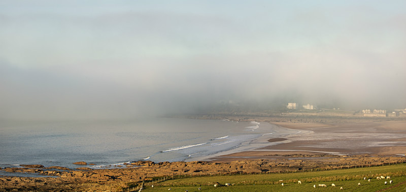Misty Croyde Bay - Devon Seascapes