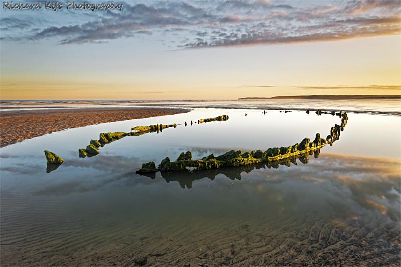 Westward Ho! Wreck Light - Devon Seascapes