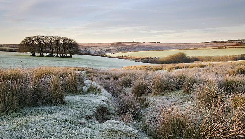 Frosty Hawkridge - Exmoor