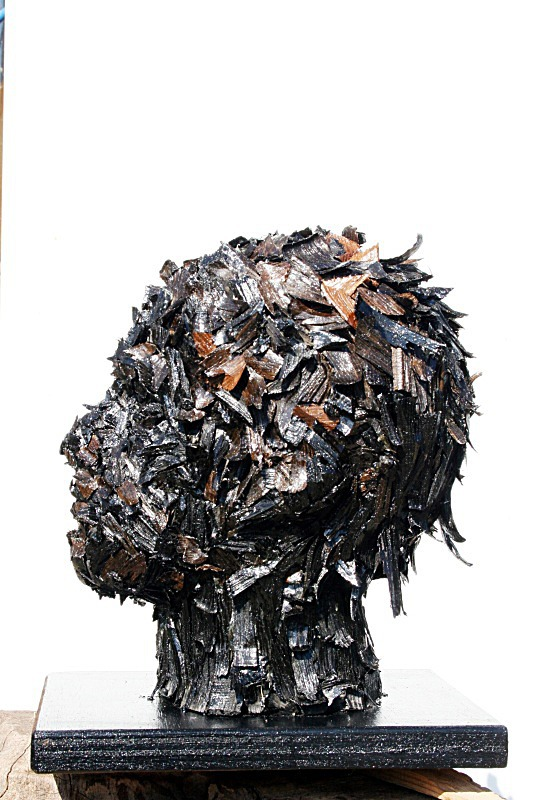 Bog oak head no.1 - Heads