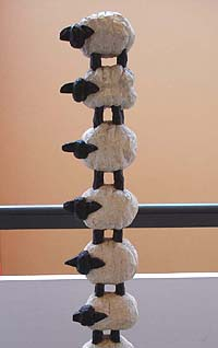 Sheep column - Columns