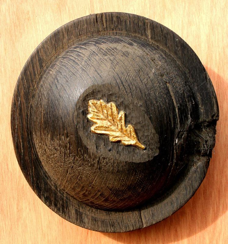 Bog oak disc - Discs