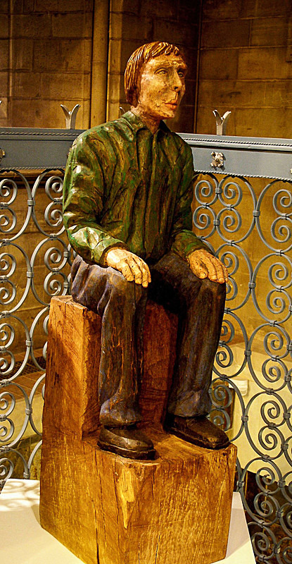SEATED MAN IN GREEN - Figures
