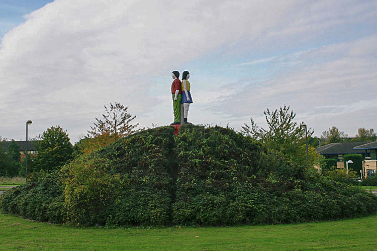 BOY AND GIRL - Public Art