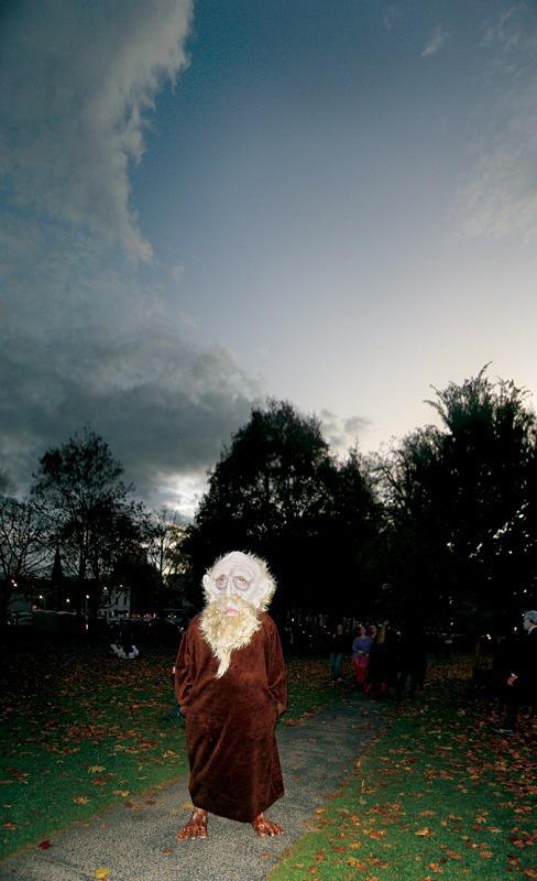 Druid, Salem Common - Halloween