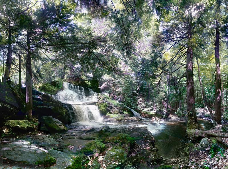 Sanctuary, Garwin Falls, NH - Waterfalls