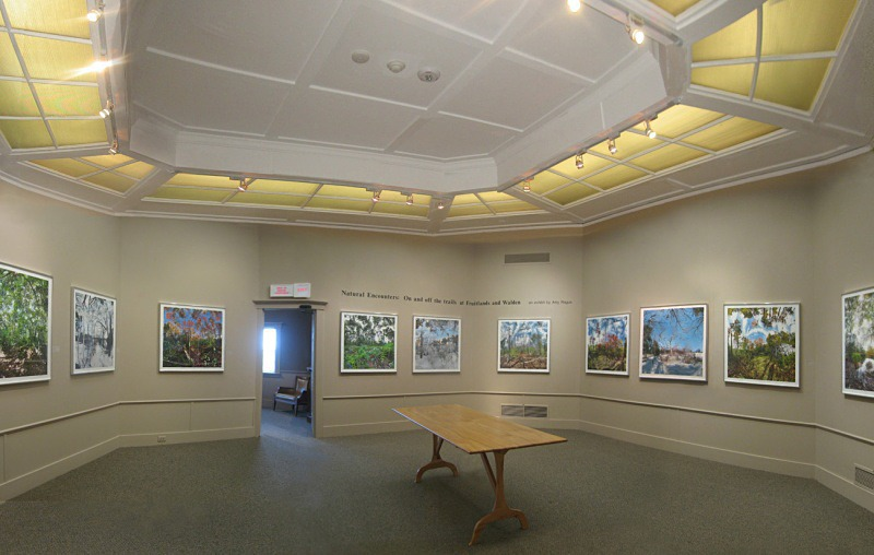 Fruitlands Museum installation - Fruitlands