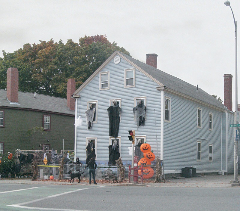 Seeing Ghosts, Salem - detail - Halloween