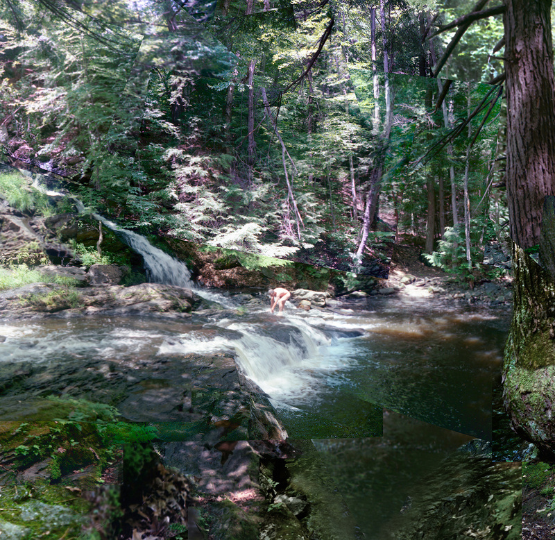 Sanctuary, Garwin Falls- detail - Waterfalls