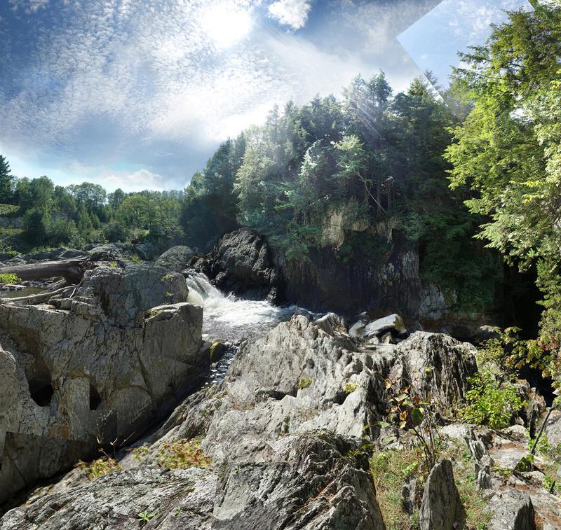 Big Falls, Vermont - Waterfalls