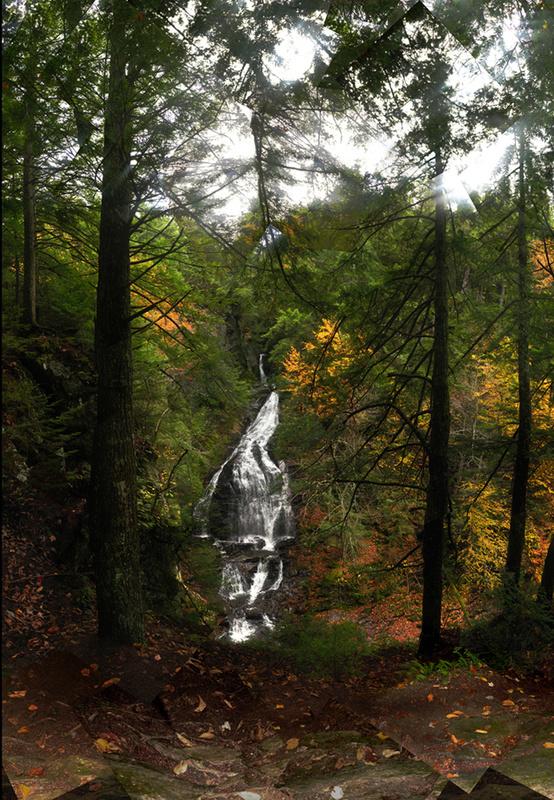 Moss Glen Falls, Vermont - Waterfalls