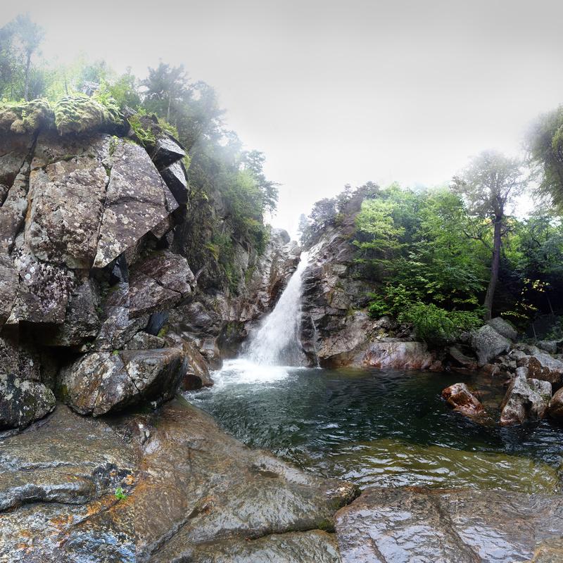 Glen Ellis Falls, NH - Waterfalls