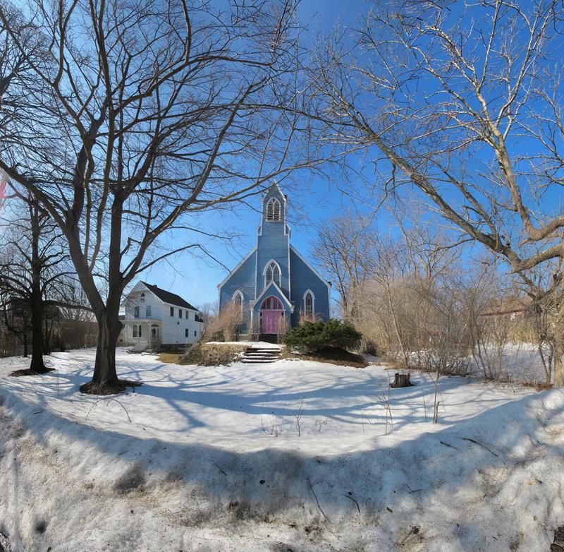 The Blue Church, Rockport - Cape Ann