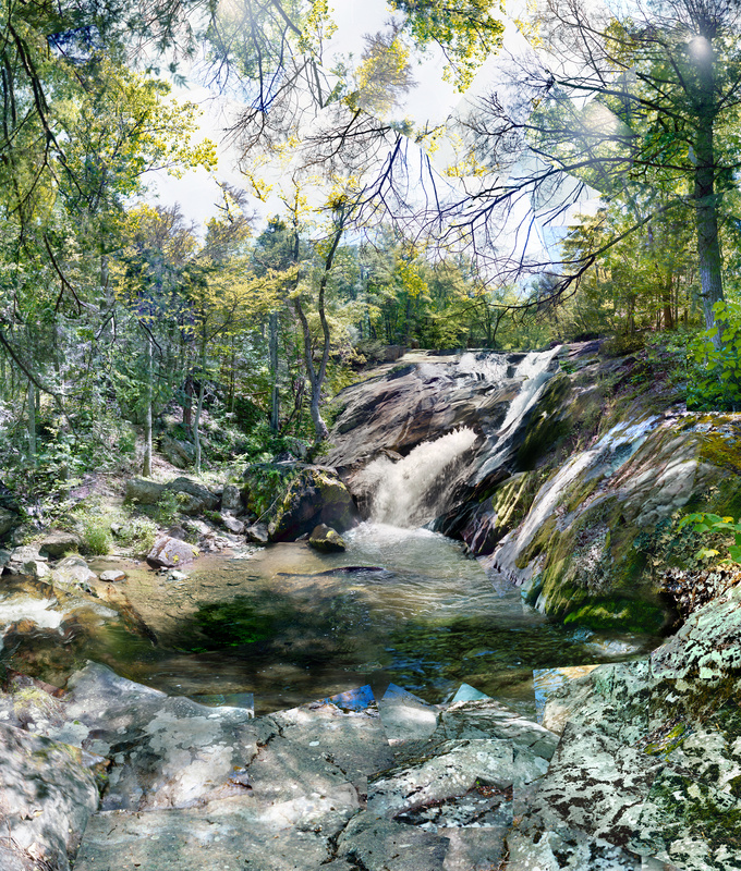 Butterfly, Virginia - Waterfalls