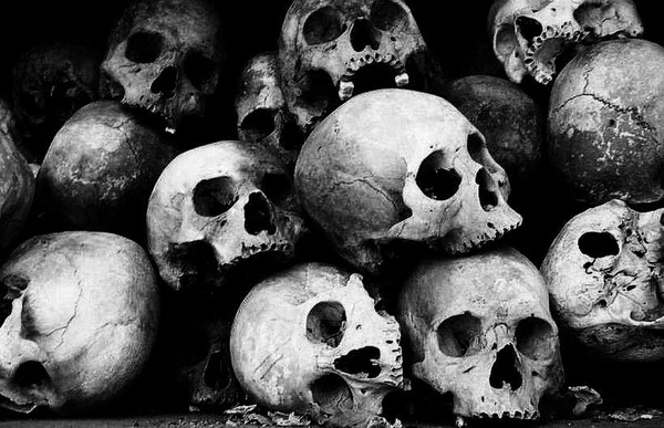 Skulls, Phnom Penh - Cambodia and Vietnam
