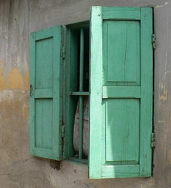 24.  Green shutters, Hoi An - Cambodia and Vietnam