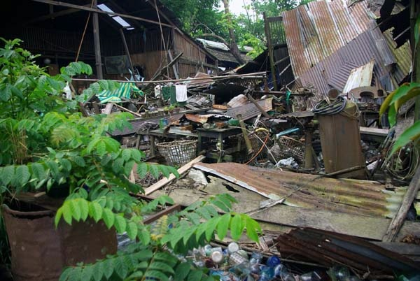 Cyclone Nargis damage, Rangoon - Burma