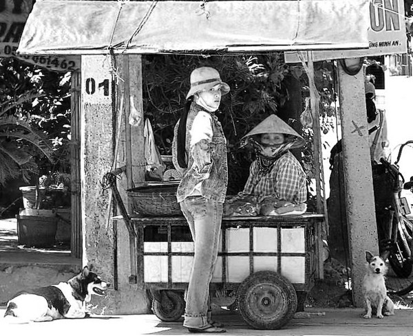 Mobile butchershop, Hoi An - Cambodia and Vietnam