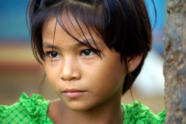 Burmese village girl - Burma