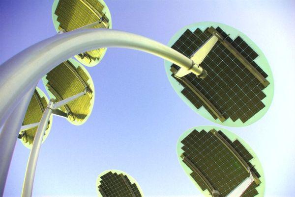 Solar lights, Festival Centre Plaza - Adelaide, South Australia