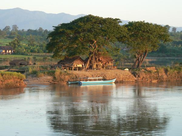 River village, Irrawaddy - Burma